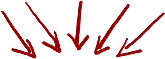 119 1197740 Red Arrows Red Arrow Pointing Down Png