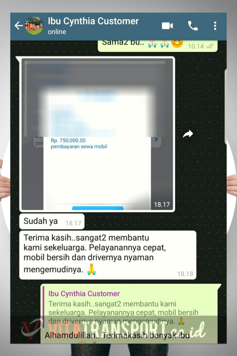 Testimoni Sewa Hiace Malang Vita Transport 4